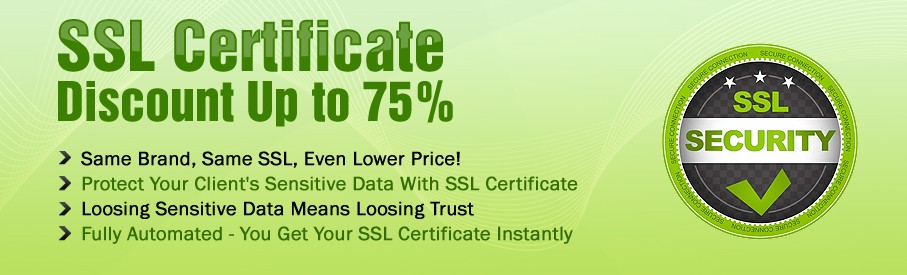 SSL Security Certificate For Websites, Facebook, Exchange Mail Servers and Ecommernce Website