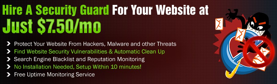 Protect and Scan Website For Malware and Avoid Hacking